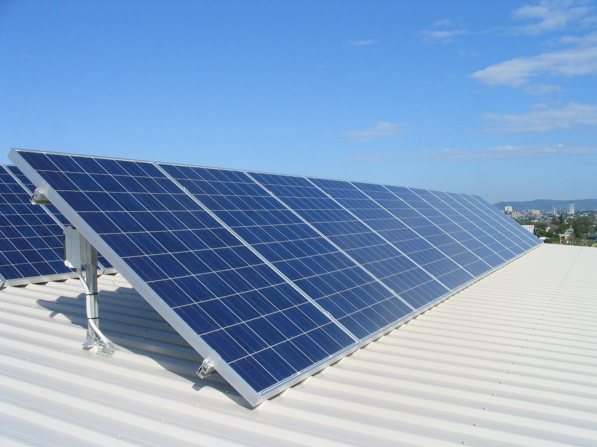 Commercial Solar Panels Installation